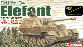 Sd.Kfz.184 Elefant (2 in 1) (1:35) Model Kit 6871 - Dragon
