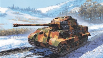 Model Kit tank 7004 - Sd. Kfz. 182 KING TIGER (1:72)