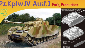 Pz.Kpfw.IV Ausf.J Early Production (1:72) – Dragon