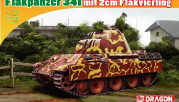 FLAKPANZER 341 mit 2cm FLAKVIERLING (1:72) Model Kit 7487 - Dragon