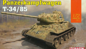 Model Kit tank 7564 - Panzerkampfwagen T-34/85 (1:72)