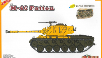 M46 Patton + G.I. (1:35) Model Kit 9147 - Dragon