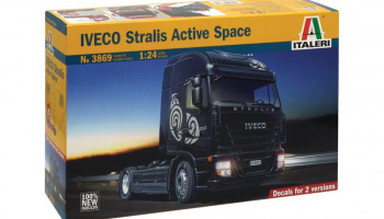 IVECO STRALIS Active Space (1:24) Model Kit Truck 3869 - Italeri