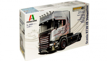SCANIA R730 STREAMLINE 4x2 (1:24) Model Kit truck 3906 - Italeri