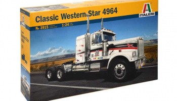 CLASSIC WESTERN STAR (1:24) Model Kit Truck 3915 - Italeri