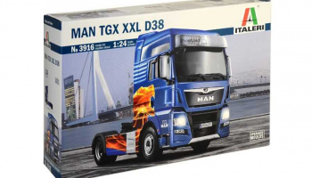 MAN TGX XXL D38 (1:24) Model Kit truck 3916 - Italeri
