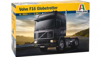 VOLVO F-16 GLOBETROTTER (1:24) Model Kit Truck 3923 - Italeri