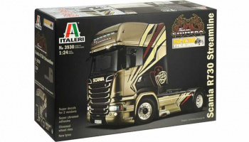 "SCANIA R730 STREAMLINE ""TEAM CHIMERA"" (1:24) Model Kit Truck 3930 - Italeri"