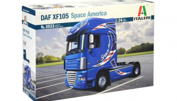 DAF XF105 Space America (1:24) - Italeri Model Kit Truck 3933