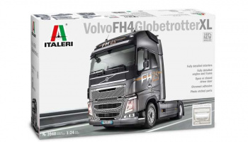 VOLVO FH4 GLOBETROTTER XL (1:24) Model Kit Truck 3940 - Italeri