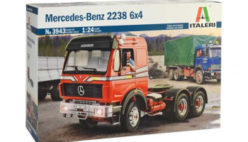 Mercedes-Benz 2238 6x4 (1:24) Italeri Model Kit Truck 3943