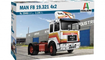 MAN F8 19.321 4x2 (1:24) Model Kit truck 3946 - Italeri