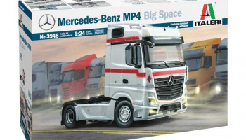 Mercedes-Benz MP4 Big Space (1:24) Model Kit Truck 3948 - Italeri