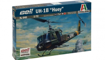 Model Kit vrtulník 0040 - UH-1B HUEY (1:72)