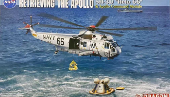 "Apollo Recovery SH-3D ""Helo 66"" & Apollo Command Module (1:72) Model Kit vrtulník 11026 - Dragon"