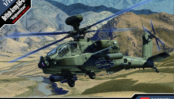 "Model Kit vrtulník 12537 - British Army AH-64 ""Afghanistan"" (1:72)"