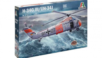 Model Kit vrtulník 2712 - UH-34J (1:48)