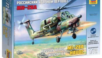 Model Kit vrtulník 7246 - MI-28A HAVOC (1:72)