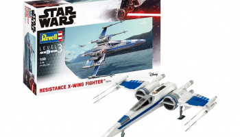 Resistance X-Wing Fighter (1:50) Model Set Star Wars 66744 - Revell