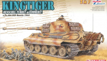 Model kit tank 6840 - Sd.Kfz.182 Kingtiger (1:35)