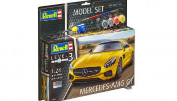 Mercedes AMG GT (1:24) Model Set 67028 - Revell