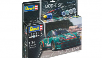 "Model Set auto 67032 - Porsche 934 RSR ""Vaillant"" (1:24) - Revell"