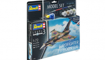 ModelSet letadlo 63900 - 100 Years RAF: Eurofighter Typhoon RAF (1:72)