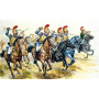 Model Kit figurky 6003 - FRENCH HEAVY CAVALRY (NAP. WARS) (1:72)