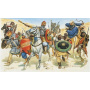 Model Kit figurky 6010 - SARACENS WARRIOS (XIth CENTURY) (1:72)