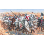 Model Kit figurky 6125 - TEMPLAR KNIGHTS (MEDIEVAL ERA) (1:72)