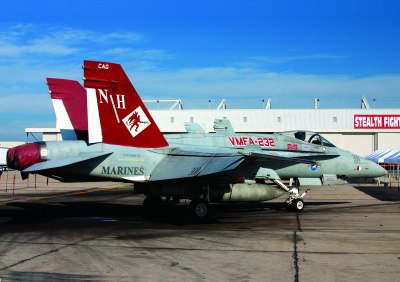 Model Kit letadlo 12520 - USMC F/A 18A+ VMFA-232 RED DEVILS (1:72)