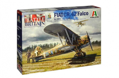 Model Kit letadlo 2801 - FIAT CR.42 Falco (1:48)