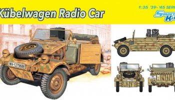 Kubelwagen Radio Car (1:35) Model Kit 6886 - Dragon