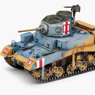 Model Kit tank 13270 - BRITISH M3 STUART HONEY (1:35)