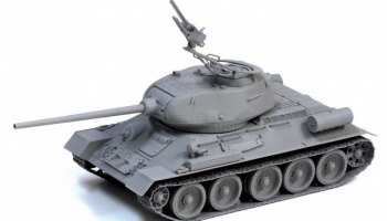 Syrian Army T-34/85 - The Six Day War (1:35) Model Kit tank 3571 - Dragon
