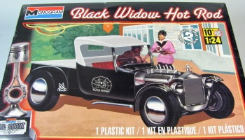 Ford T Hot Rod Black Widow - Monogram