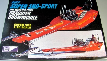 Rupp Super Sno-Sport Dragster Snowmobile - MPC