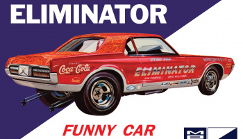 Dyno Don Cougar Eliminator Funny Car - MPC