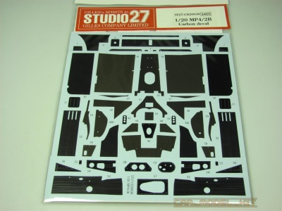 MP4/2B Carbon Decal - Studio27