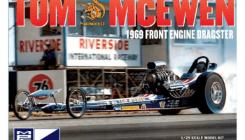 Tom Mongoose McEwen 1969 Front Engine Dragster - MPC
