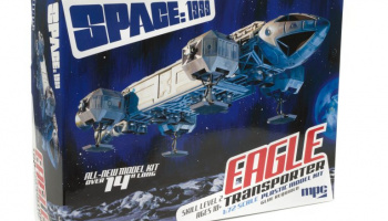 "SPACE 1999: 14"" EAGLE TRANSPORTER 1:72 - MPC"