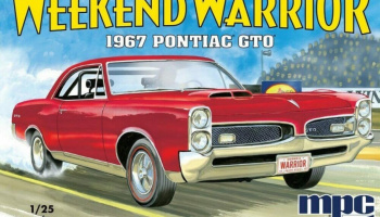 Pontiac GTO 1967 1/25 Scale Model Kit - MPC