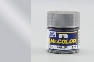 Mr. Color C 008 - Silver Metallic - Gunze