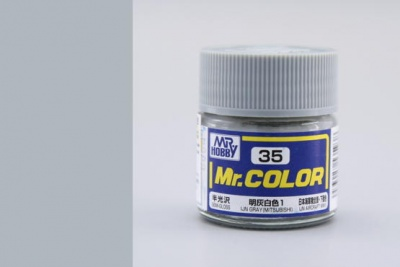 Mr. Color C 035 IJN Gray Mitsubishi - Gunze