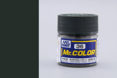 Mr. Color C 036 - RLM74 Gray Green - Gunze