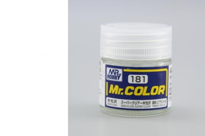 Mr. Color C 181 - Semi-Gloss Super Clear - Gunze