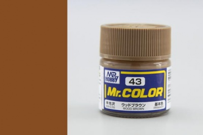 Mr. Color C043 Wood Brown - Gunze
