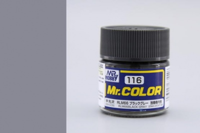 Mr. Color C116 RLM66 Black Gray - Gunze