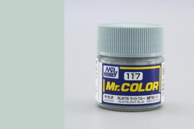 Mr. Color C117 - RLM76 Light Blue - Gunze