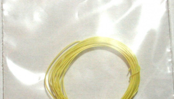 Piping Cord 0.48mm diameter x 2m (Yellow) - MSM Creation